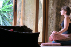 Meditation-in-the-cave-entrance